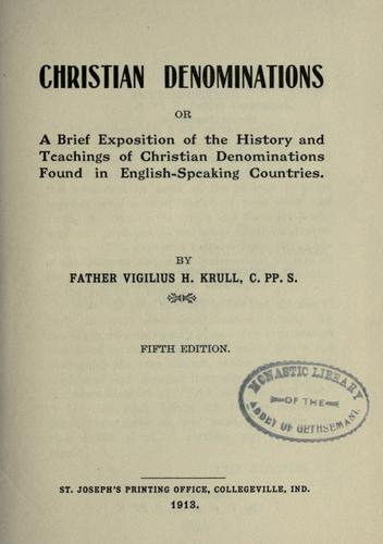Download Christian denominations