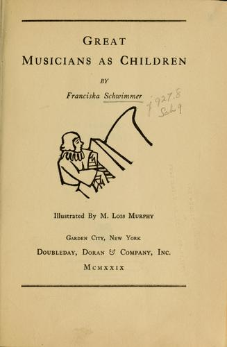 Download Great musicians as children