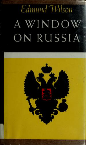 A window on Russia, for the use of foreign readers