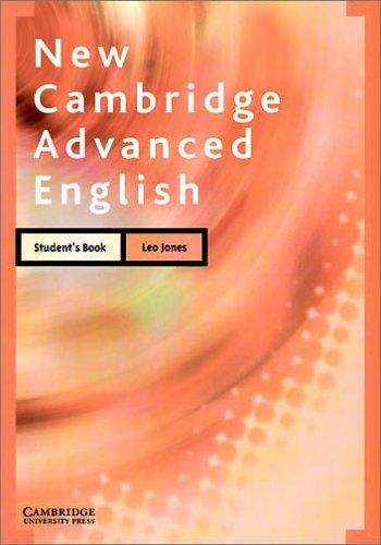 New Cambridge Advanced English, Student's Book