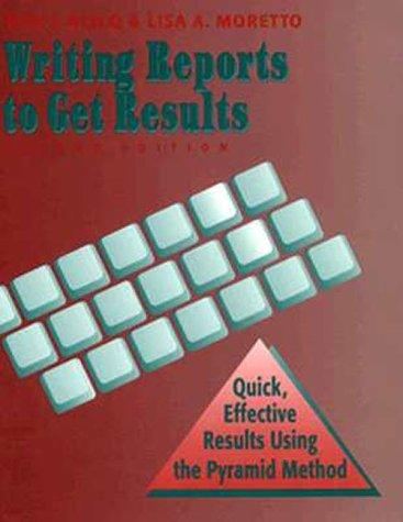 Download Writing reports to get results