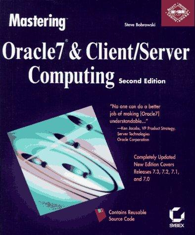 Download Mastering Oracle7 & client/server computing