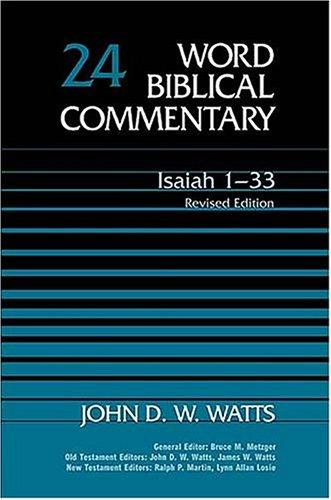 Isaiah 1-33