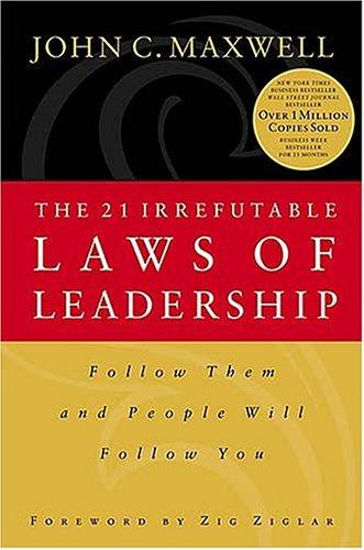 Download The 21 irrefutable laws of leadership