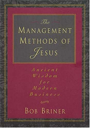 The management methods of Jesus