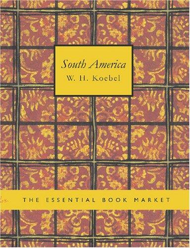 South America (Large Print Edition)