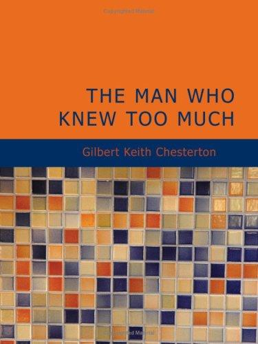 Download The Man Who Knew Too Much (Large Print Edition)