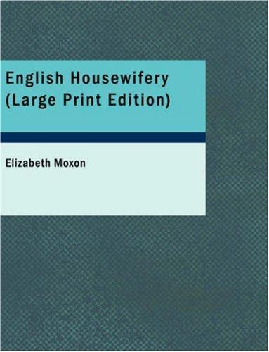 Download English Housewifery (Large Print Edition)