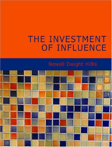 Download The Investment of Influence (Large Print Edition)