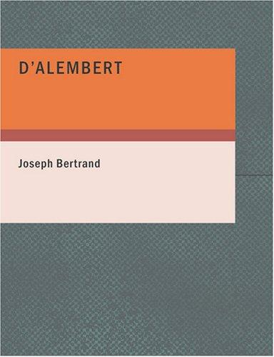 Download D'Alembert (Large Print Edition)