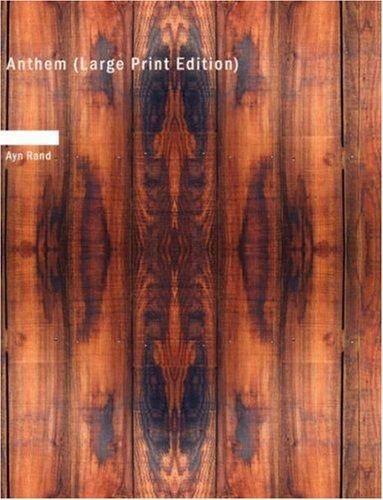 Download Anthem (Large Print Edition)