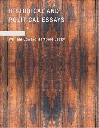 Download Historical and Political Essays (Large Print Edition)