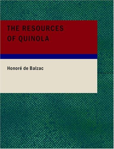 The Resources of Quinola (Large Print Edition)