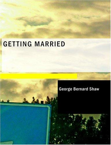 Download Getting Married (Large Print Edition)