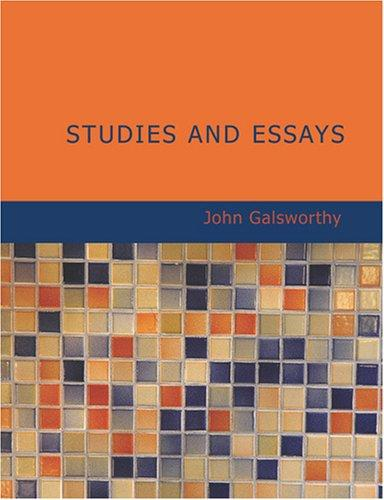 Studies and Essays (Large Print Edition)