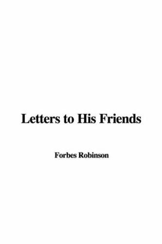 Download Letters to His Friends