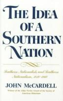 Download The idea of a Southern nation