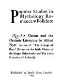 Download Ossian and the Ossianic literature.