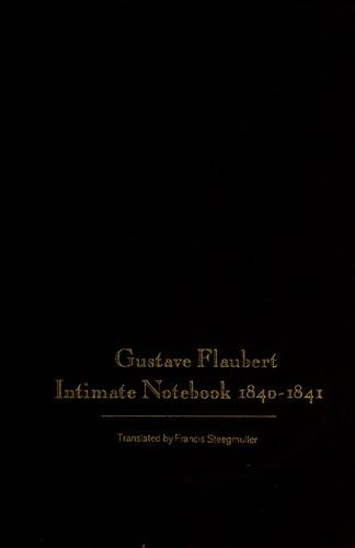 Intimate notebook, 1840-1841