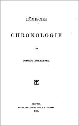 Römische Chronologie.