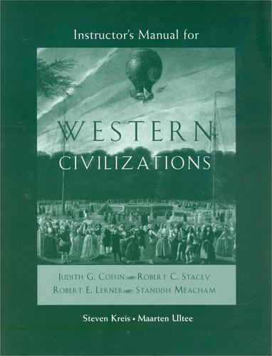 Download Instructor's Manual for Western Civilizations, 14th edition