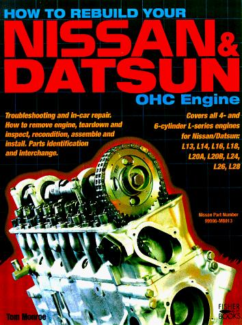Download How to Rebuild Your Nissan & Datsun OHC Engine