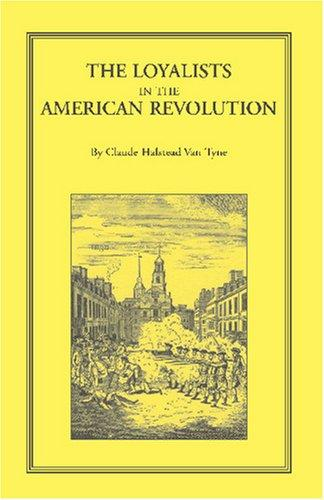 Loyalists in the American Revolution