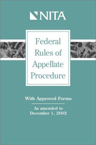Download Federal rules of appellate procedure