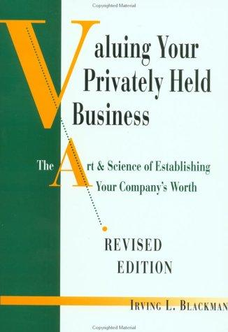 Download Valuing Your Privately Held Business