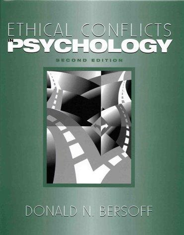 Download Ethical Conflicts in Psychology