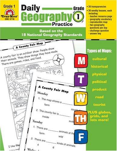Download Daily Geography Practice – Grade 1