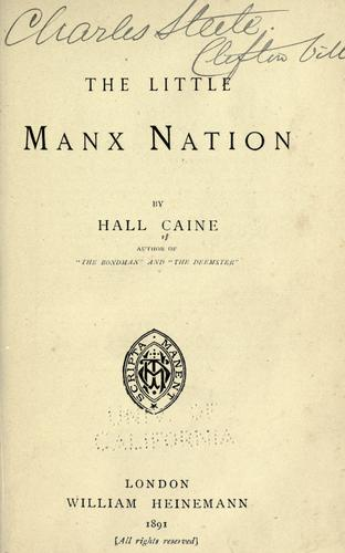 The Little Manx Nation …