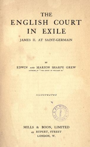 The English court in exile
