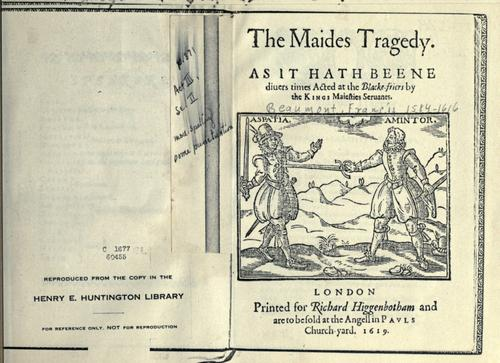 The maides tragedy