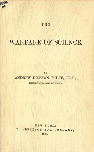 Download The warfare of science.