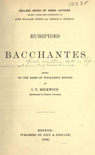 Bacchantes