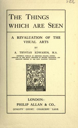 Download The things which are seen
