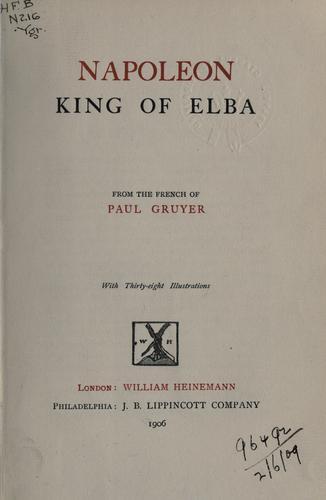 Download Napoleon, King of Elba.