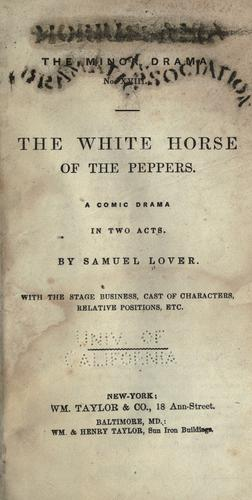 The white horse of the Peppers