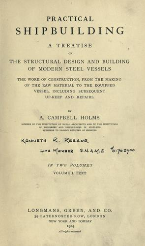 Download Practical shipbuilding