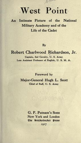West Point by Robert Charlwood Richardson