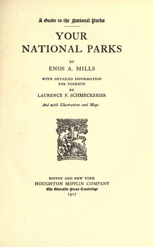 Download Your national parks.