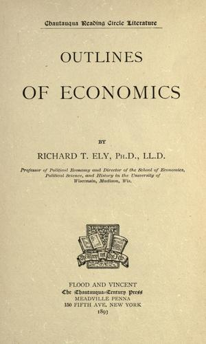 Download Outlines of economics