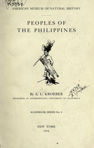 Download Peoples of the Philippines.