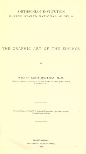 The graphic art of the Eskimos.