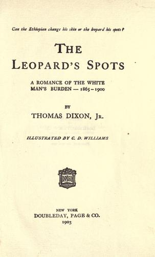 Download The leopard's spots