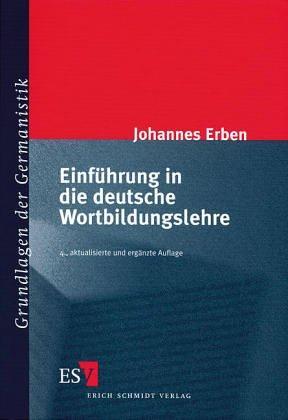 Download Einführung in die deutsche Wortbildungslehre