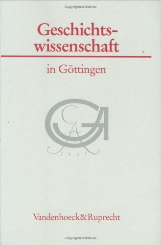 Geschichtswissenschaft in Gottingen