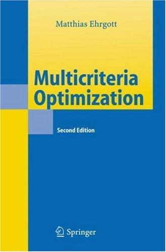 Multicriteria Optimization