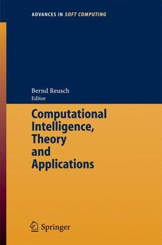 Download Computational Intelligence, Theory and Applications